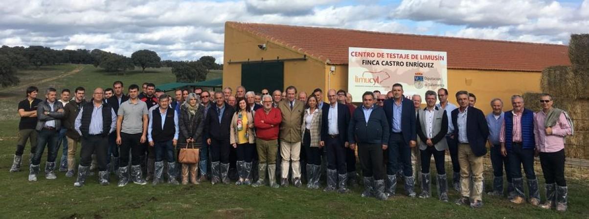 INAUGURACIÓN CENTRO DE TESTAJE CASTRO ENRÍQUEZ - SALAMANCA