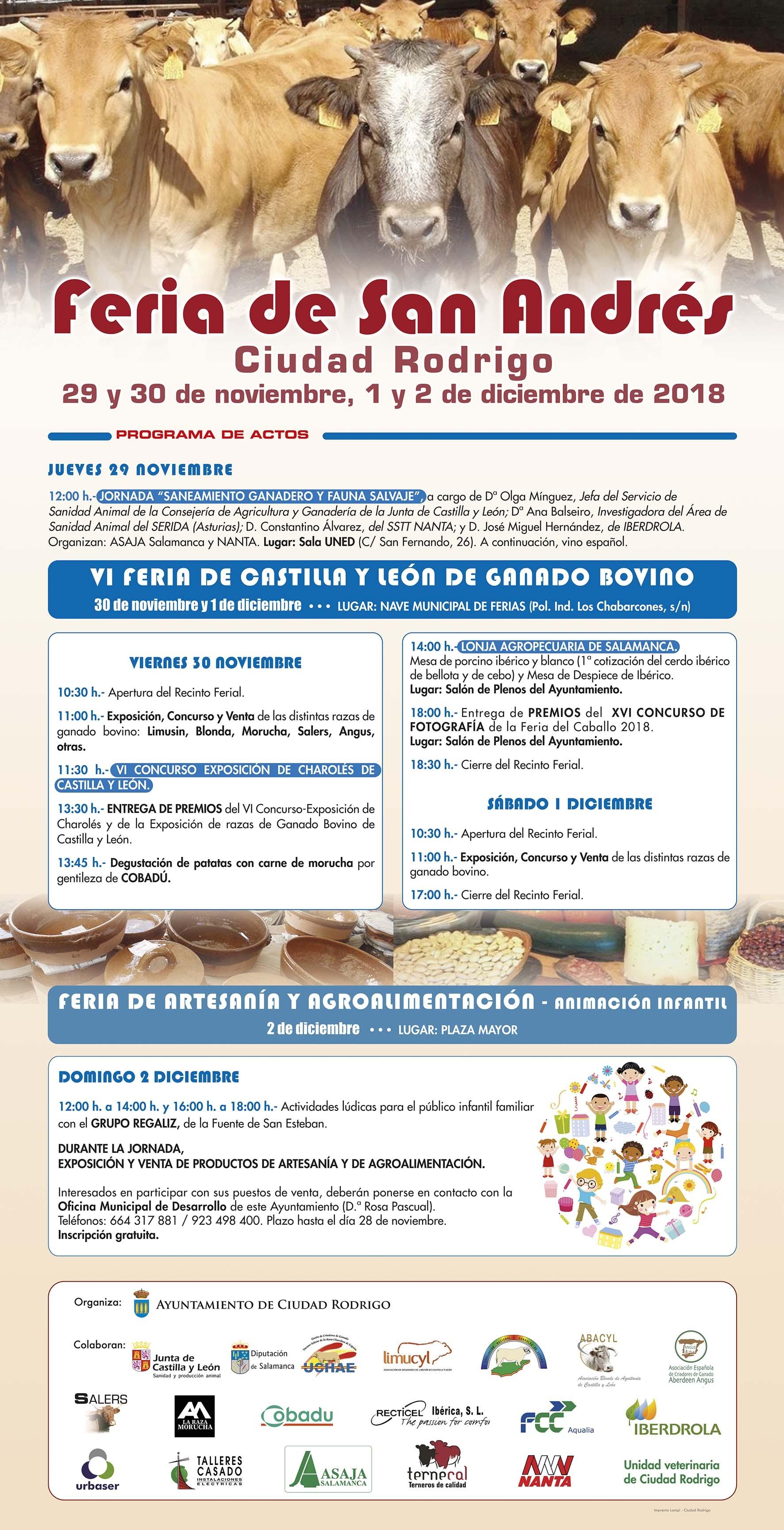 PREMIOS FERIA CIUDAD RODRIGO 2018